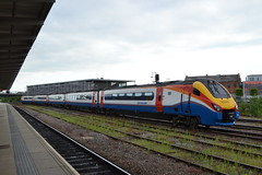 East Midlands Trains Meridian 222010 (Will Swain) Tags: derby station 17th june 2017 train trains rail railway railways transport travel uk britain vehicle vehicles country england english midlands midland east meridian 222010 class 222 010