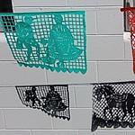 Flag Shadows on Wall 6251 B thumbnail