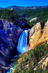Lower Falls,Yellowstone National Park, Wyoming, USA (klauslang99) Tags: klauslang nature naturalworld northamerica lower falls yellowstone national park landscape water waterfalls
