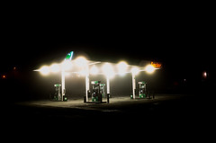 Ely, Nevada, USA (St James Gate) Tags: ely usa nevada road street gasstation night gas sinclair