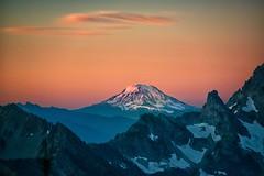 Mt. Adams Sunrise (Philip Kuntz) Tags: mtadams klickitat pahto volcano stratovolcano cascadevolcanicarc cascademountains degepeak washington