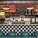 Inside Route 66 Diner