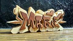 Marie (MM ©) Tags: marie wood woodgraffiti woodengraffiti wooden woodenletters handmade ttk ttk72 wwwttk72couk tyneside woodart homedecor decor design unique bespoke custom madetoorder solidwoodsonly original sapele spruce