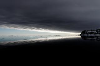 Summer Night in Svalbard