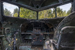 . (Dawid Rajtak) Tags: plane urbex urban lost abandoned military base cackpit
