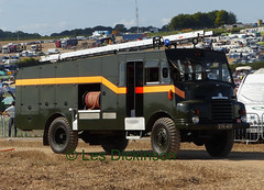 SYH 409, Bedford RLHZ, Fire Engine, Green Goddess,      P1120291 (LesD's pics) Tags: truck lorry greatdorsetsteamfair2017 greengoddess syh409 bedfordrlhz fireengine waterpump
