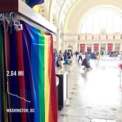 #activetransportation ♥️ DC #mostinclusivecity #gatewaytothefuture ️🌈✌🌎#LGBTQ #TransVisibility #LoveThisCentury #AsDCGoesSoGoesTheNation
