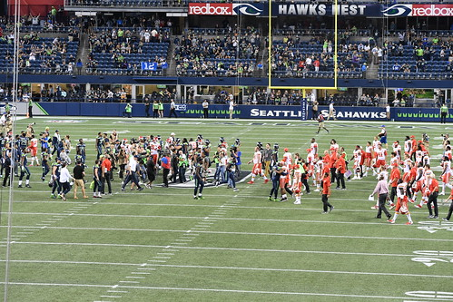 2017 Seahawks vs Kansas City Chiefs pre season game
