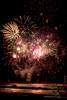 Feux d'artifice (Thierry Poupon) Tags: 21juillet feudartiifice fusée mer méditerranée portlanouvelle reflet nuit languedoc france fr