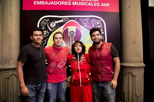 AHF Mexico KTP Music Ambassadors