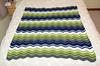 Ripple baby blanket (tehchix0r) Tags: crochet crochetblanket