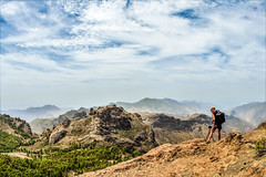 photographers life (I was blind now I see!) Tags: grancanaria vista landscape people photographer photography skyscape trees mountain mountains valley rocks distant distance scene scenery scenic views camera tripod