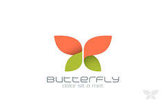 Butterfly Fashion vector logo design template. Insect. Creative Beauty Spa Cosmetics icon. (ynottri) Tags: logo logotype identity abstract art beautiful beauty bright butterfly circle color colorful concept cosmetics creative design element fashion flying graphic icon illustration insect isolated modern natural nature shape sign spa summer symbol template vector wings