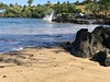 Splash on the rocks (kahunapulej) Tags: makena landing beach pacific ocean sand water sea rocks