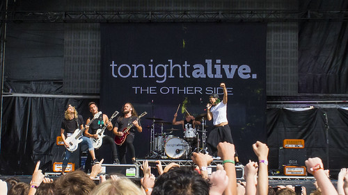 Tonight Alive fan photo