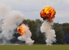 2017_08_0232 (petermit2) Tags: eastkirkbyairshow2017 eastkirkby2017 eastkirkbyairshow eastkirkby airshow lincolnshire fire explosion lincolnshireaviationheritagecentre lincsaviationheritagecentre