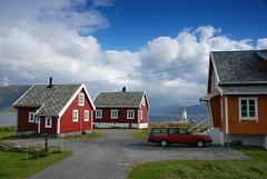 Scandinavia a nutshell (DoctorMP) Tags: norwegia norway norge moreogromsdal altlantic ocean alesund godoya architecture houses lighthouse island latarniamorska hogsteinenfyr