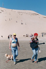 Beach Flautist (Taomeister) Tags: fujicolorindustrial100 nikonfm3a 業務用100 voigtlanderultronslii40mmf2