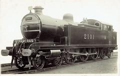 London, Tilbury and Southend Railway (Midland Railway) - LTSR 4-6-4 steam locomotive Nr. 2101 (Beyer Peacock Locomotive Works, Manchster-Gorton 5609 / 1912) (HISTORICAL RAILWAY IMAGES) Tags: bp steam locomotive gorton 464 lms 2101 ltsr mr midland beyerpeacock