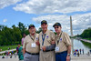 L-R:  Garrett, William / Foust, Larry / Maxwell, Delos - 24 White (indyhonorflight) Tags: ihf indyhonorflight 24 angela napili angelanapili book