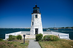 Goat Island Light, Newport RI (Andrea Tallone) Tags: usa america travel traveling travels fujifilm xe1 fuji xmount lens colors summer murica unitedstates northeast northeastern newengland boston massachusetts bostonia maine rhodeisland newhampshire north