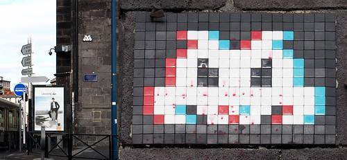 Space invader [Clermont-Ferrand]