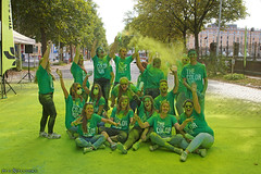 The Green team (Red Cathedral uses albums) Tags: sonyalpha a77markii a77 mkii eventcoverage alpha sony colorrun sonyslta77ii slt evf translucentmirrortechnology spartacusrun mudrun ocr strongmanrun obstaclerun redcathedral streetart contemporaryart streetphotography belgium alittlebitofcommonsenseisagoodthing thecolorrun powder brussels bruxelles brussel colourrun holi havenlaan tourtaxis girlsrunning green groen thehappiest5kontheplanet