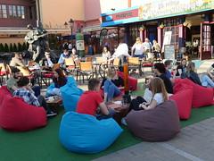Cafe life in Zagreb