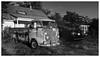 VW (daveelmore) Tags: vw volkswagen truck pickup pickuptruck vehicle stitchedpanorama panorama virginia lumixleicadgsummilux25mm114 bw blackwhite