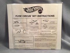 z Flyin' Circus Instructions (toyfun4u) Tags: vintage redlines hot wheels