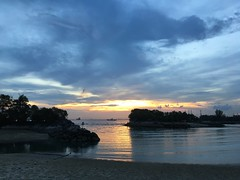 Sunset Water Sea Beach Sky Nature Scenics Beauty In Nature Tranquility Outdoors Sentosa (teddyyyyy) Tags: sunset water sea beach sky nature scenics beautyinnature tranquility outdoors sentosa