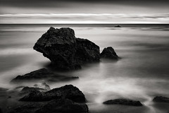 Pacific Margo (StefanB) Tags: 1235mm 2017 bw california coast em5 geotag horizon longexposure monochrome outdoor pacific pismobeach seascape sea ocean