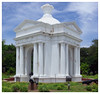 Aayi Mandapam (Park Monument) is a white monument in Pondicherry, India (Nithi clicks) Tags: aayimandapam architecture bharathi building city colonial design flower government india indian landmark park pondicherry pondichery pondy public puducherry resort statue tamil tourism tourist tree white yellow