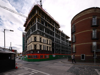 Hotel construction, Blackpitts
