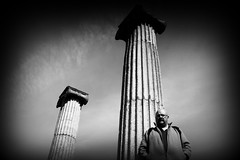 Black and White The Columnist (Lex Photographic) Tags: black white bw rammstein architecture columns column