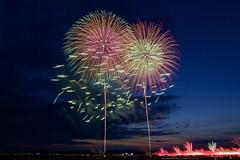 長岡まつり大花火2017 Fireworks in Nagaoka Festival 2017 (ELCAN KE-7A) Tags: 日本 japan 新潟 niigata 長岡 nagaoka 信濃川 shinano river 花火 fireworks ペンタックス pentax k3ⅱ 2017