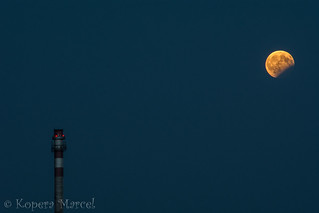 Lonely Moon Eclipse