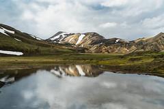 Landmannalaugar (JuanKar_M) Tags: reflection iceland summer landmannalaugar reflejo ilce7r travel viaje verano sonya7r lago sony lake islandia fe2470mmf4zaoss a7r suðurland is