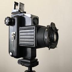 I'm calling it the Helnet (OhDark30) Tags: helnet heliar 105cm f45 dialset coronet populartwelve 120 film 6x6 homemade homebrew camera