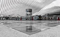 Einfahrt (tan.ja1212) Tags: bahnhof lüttich bahnhofliègeguillemins train zug bahnsteig platform architecture