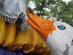 Mother Goose's Sparrow (BunnyHugger) Tags: amusementpark eggharbor goose mothergoose newjersey sparrow statue storybookland