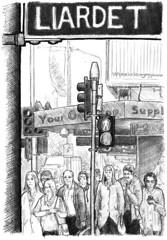 2015-12 Liardet St (gnyp) Tags: liardet street new plymouth zealand taranaki sketch drawing gnyp art