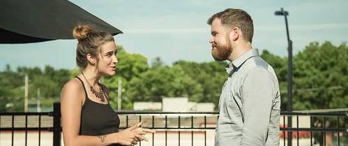 """Amanda Gibbons and Dan Umthun in """"Bone Appetit"""""""