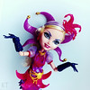 The next Queen? Why not? (KT▲Kate_and_Tanya) Tags: ever after high courtly jester doll dolls mattel kt way too wonderland joker
