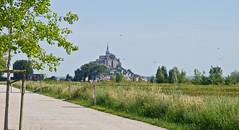 Le Mont-Saint-Michel # 3 (schreibtnix on 'n off) Tags: reisen travelling europa europe frankreich france bretagne brittany breizh lemontsaintmichel kirche church kloster monastery olympuse5 schreibtnix