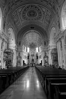 St. Michael, Munich, a very large Renaissance Church