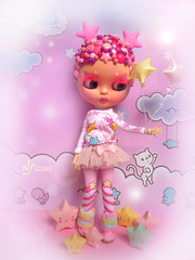 Pink Starry Girl
