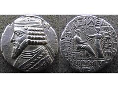 Gotarzes II tetradrachm (Baltimore Bob) Tags: ancient coin money silver tetradrachm parthia parthian persia persian arsacid arsakid