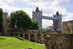 Tower Bridge (Magdeburg) Tags: tower london toweroflondon towervonlondon bridge towerbridge towerbridgelondon