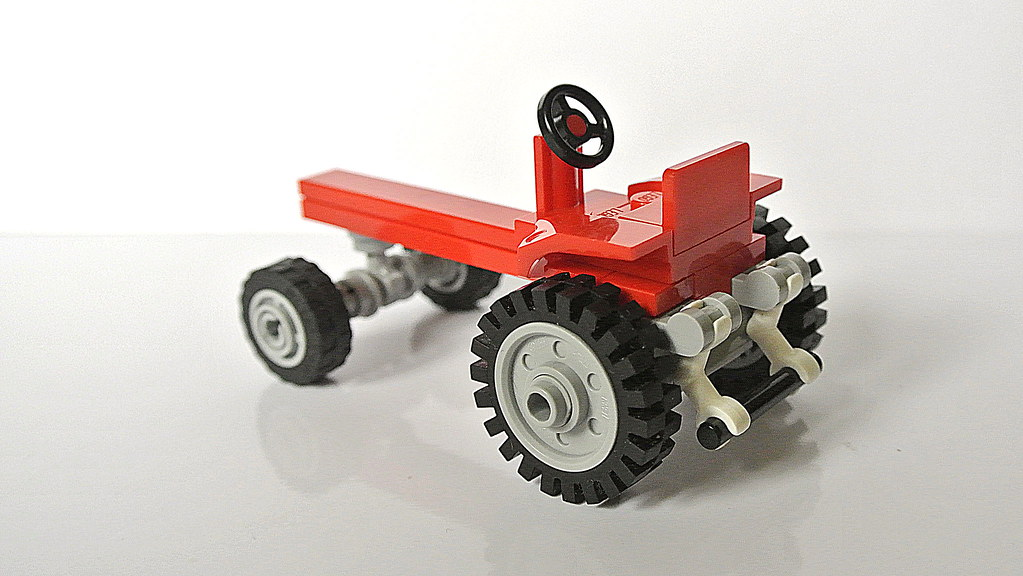Tractor Car Tags : The world s best photos of lego and tractor flickr hive mind
